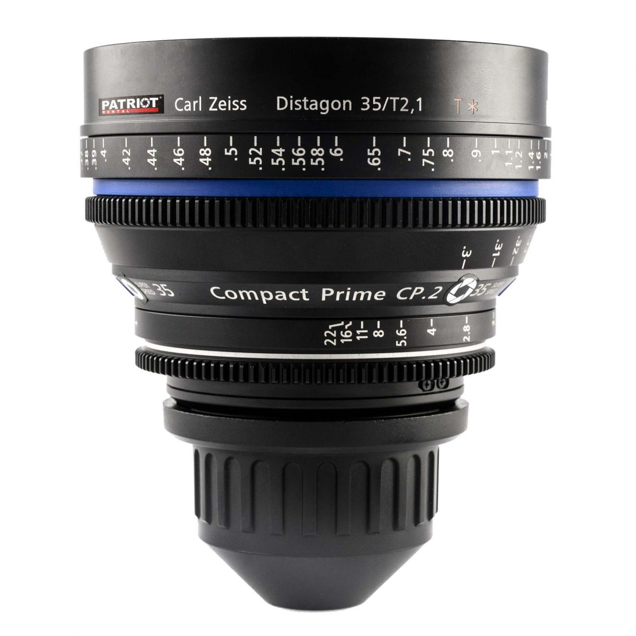 35mm ZEISS COMPACT PRIME CP.2 Lens T2.1