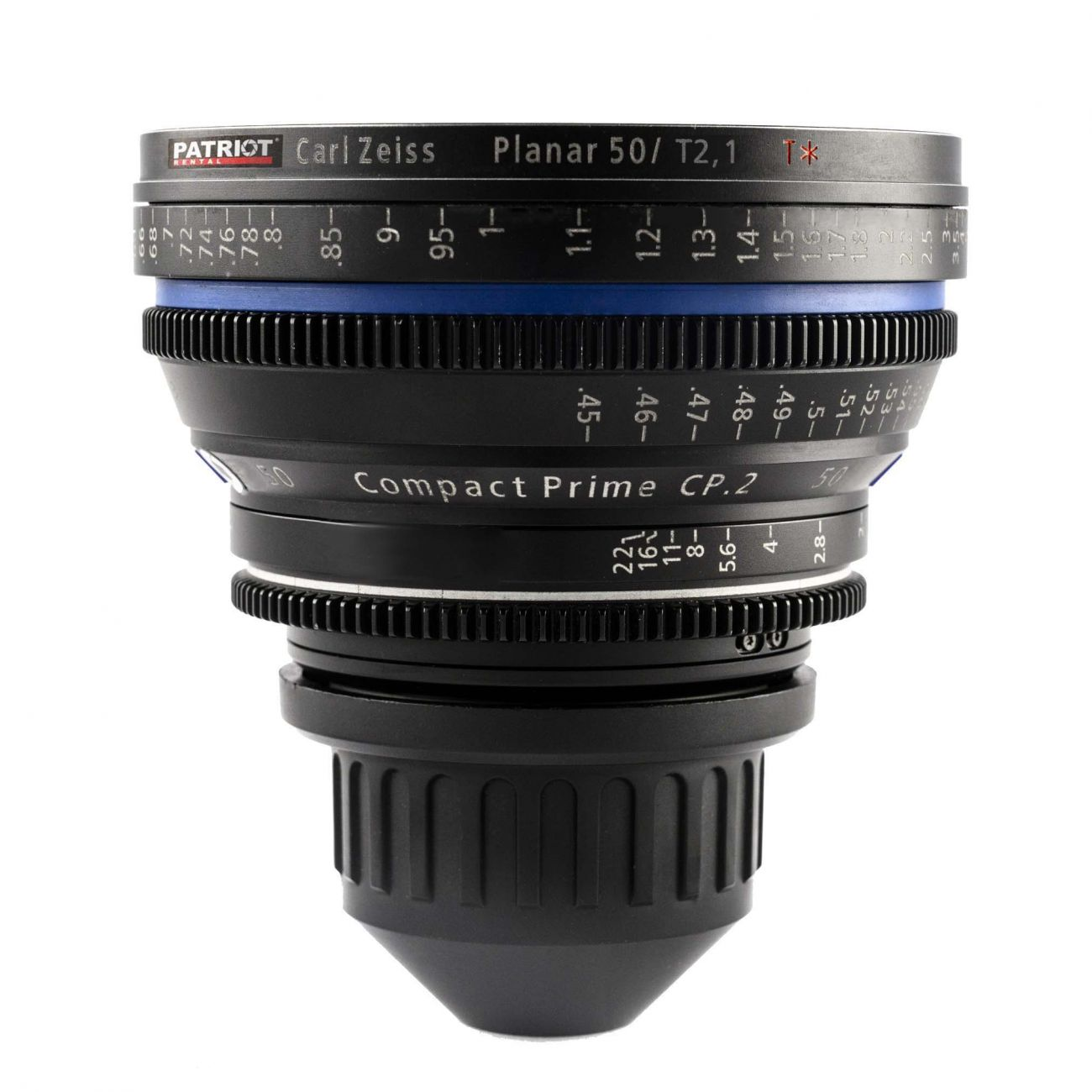 50mm ZEISS COMPACT PRIME CP.2 Lens T2.1
