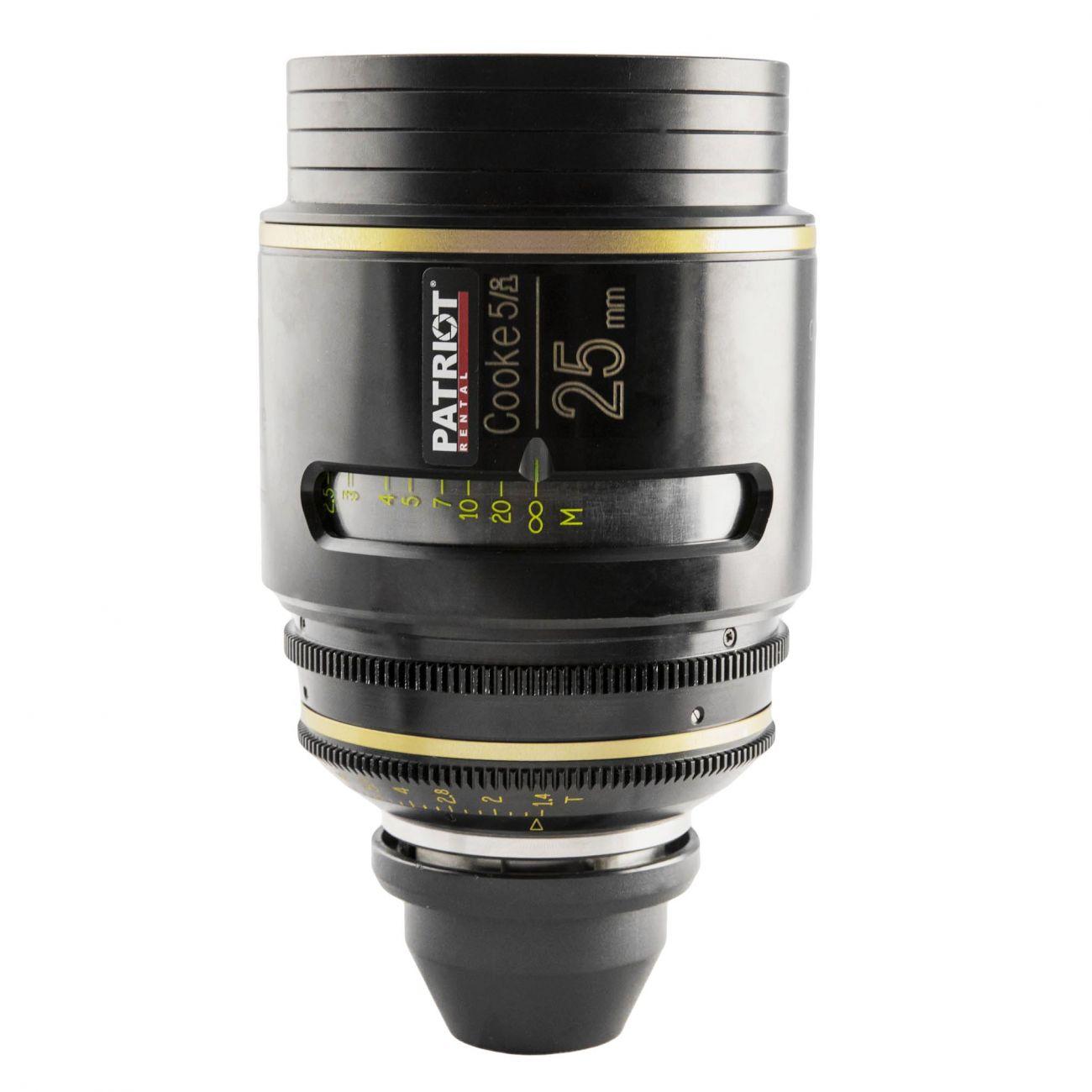 25mm COOKE 5/i lens T1.4