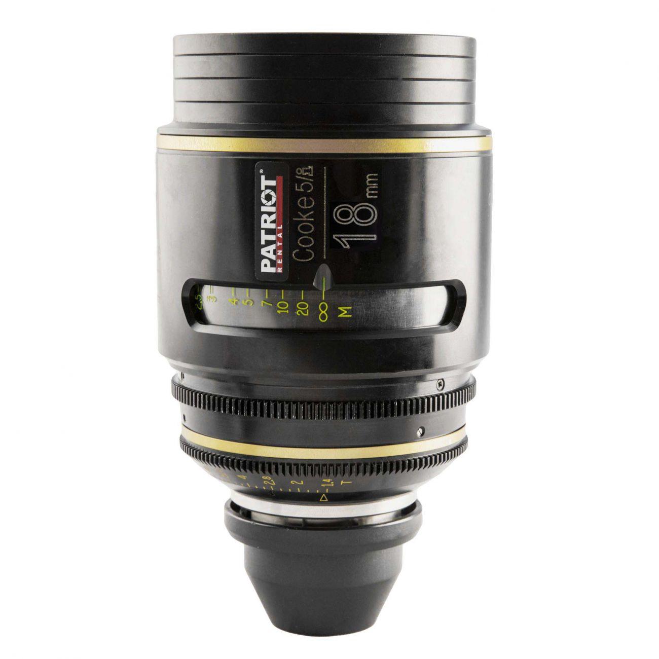 18mm COOKE 5/i lens T1.4