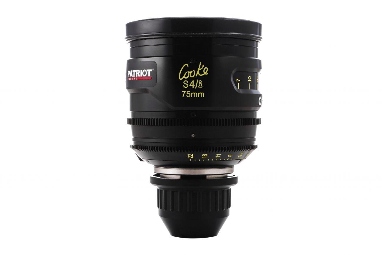 75mm COOKE S4/i lens T2