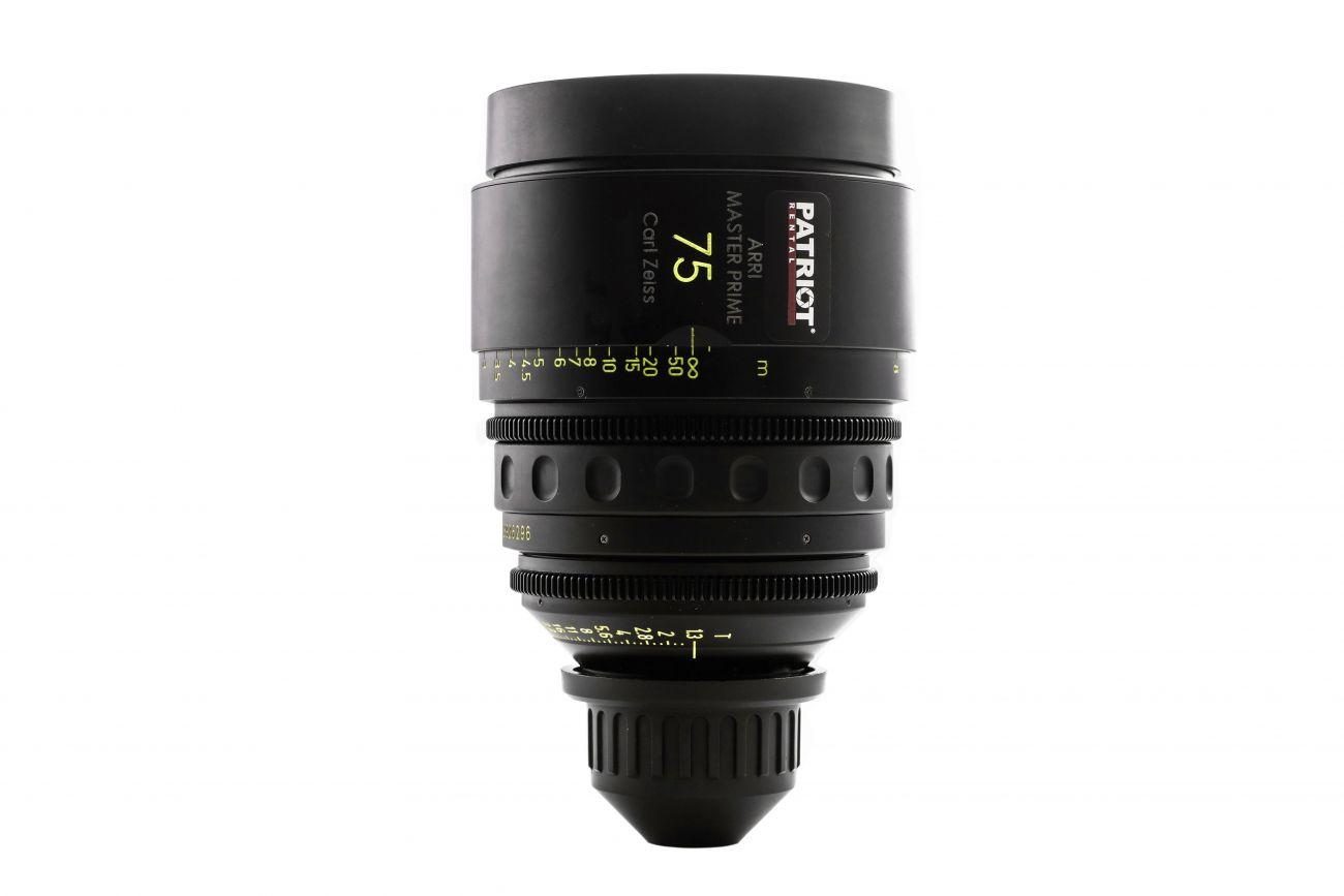 75mm ARRI MASTER PRIME Lens T1.3