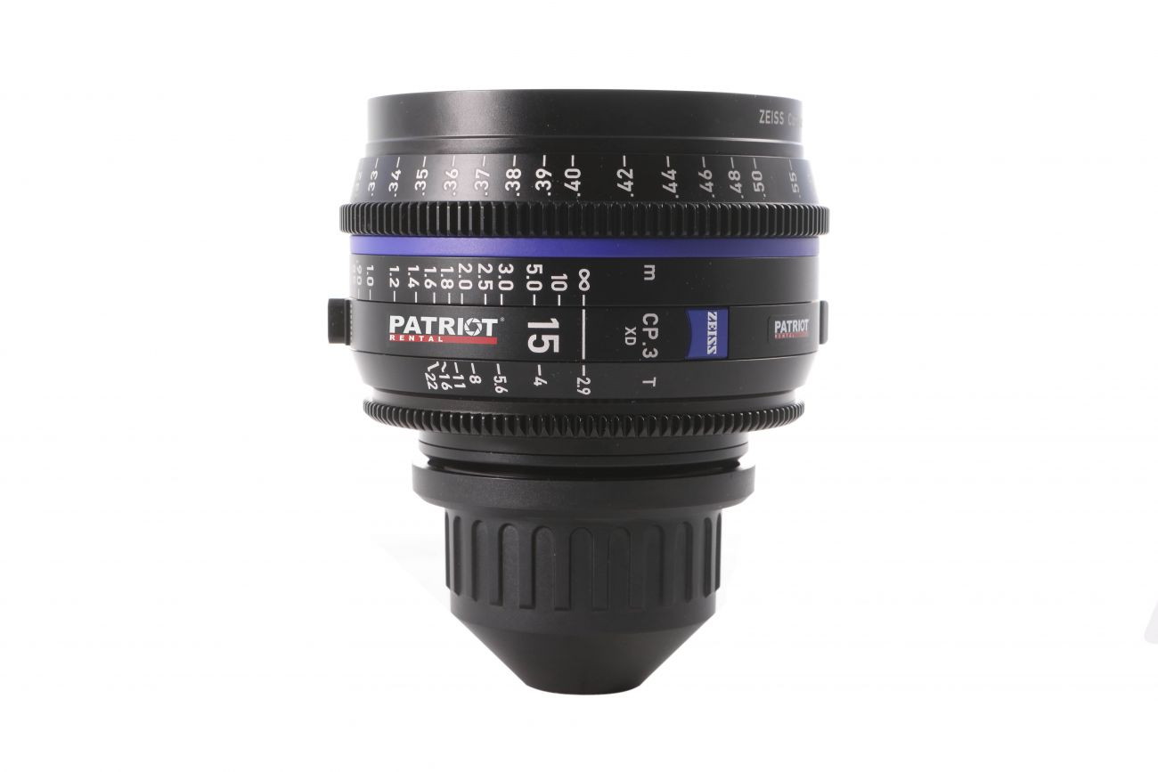 15mm ZEISS COMPACT PRIME CP.3 Lens T2.9