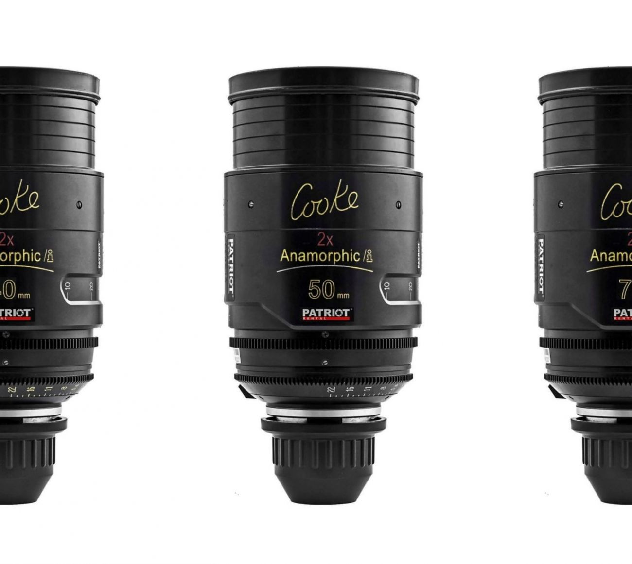 SET COOKE ANAMORPHIC/I 2x Lenses T2.3 32,40,50,75,100mm