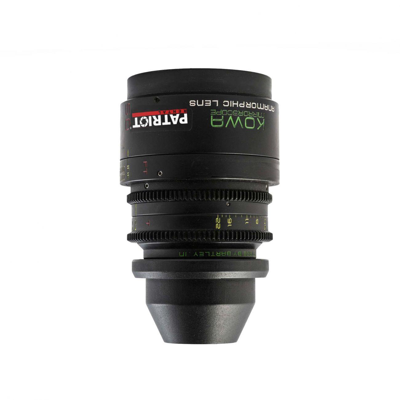 50mm KOWA ANAMORPHIC MIRRORSCOPE 2x lens T2.3