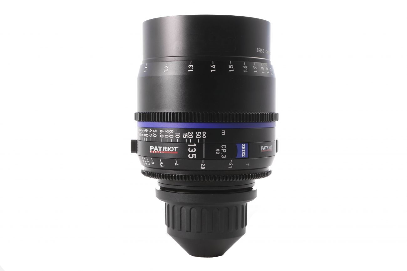 135mm ZEISS COMPACT PRIME CP.3 Lens T2.1