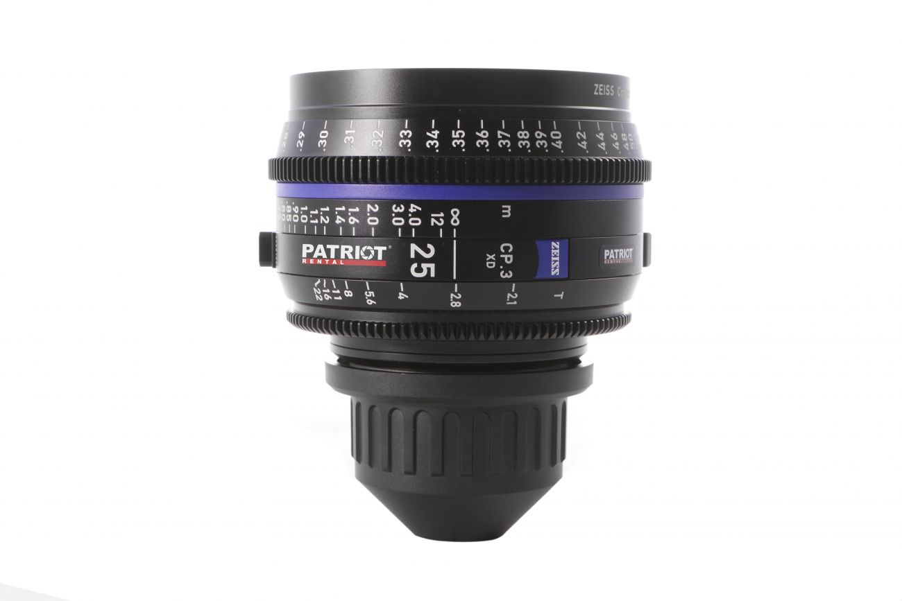 25mm ZEISS COMPACT PRIME CP.3 Lens T2.1