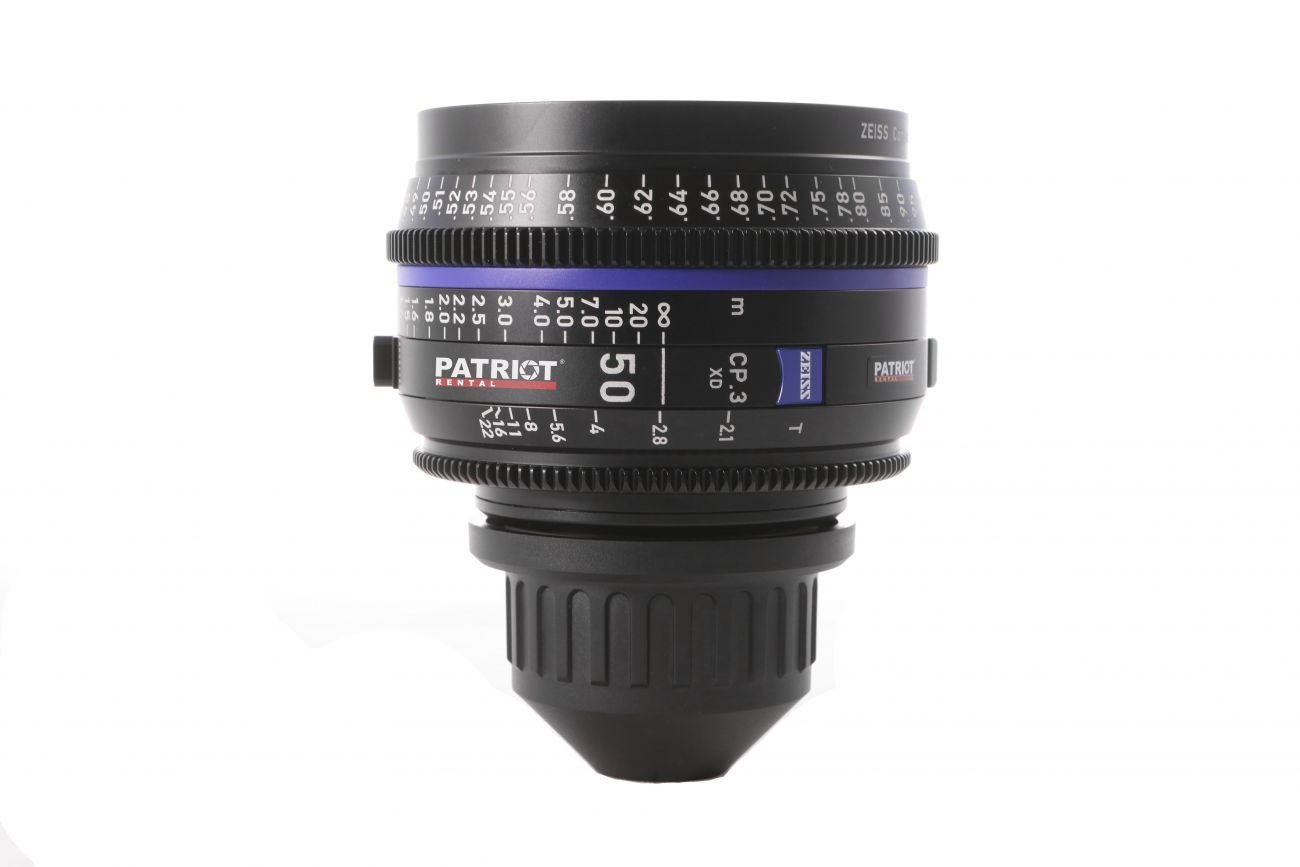 50mm ZEISS COMPACT PRIME CP.3 Lens T2.1