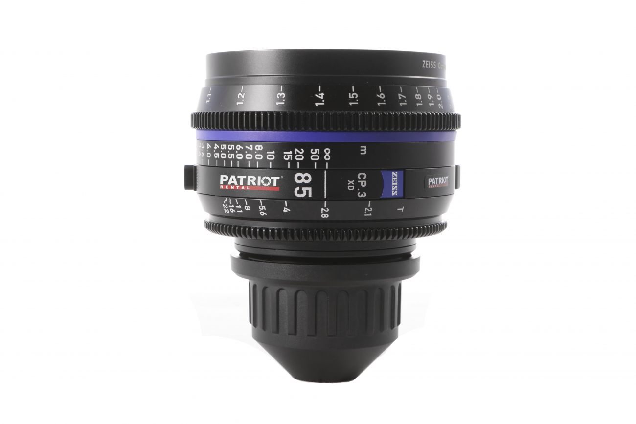 85mm ZEISS COMPACT PRIME CP.3 Lens T2.1