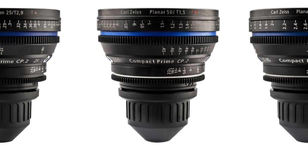 SET ZEISS COMPACT PRIME CP.2 Super Speed Lenses T2.1-2.9  15,25,35,50,85,135mm