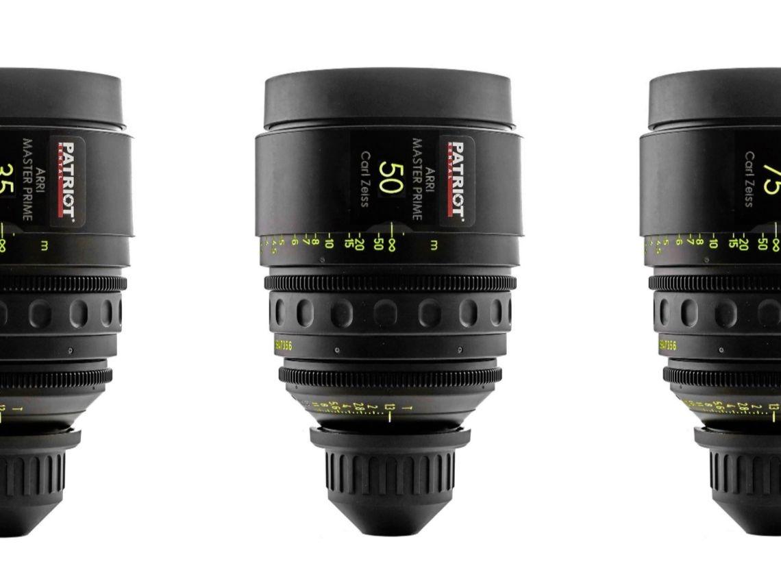 SET ARRI MASTER PRIME Lenses T1.3 16,25,35,50,75,100,135mm