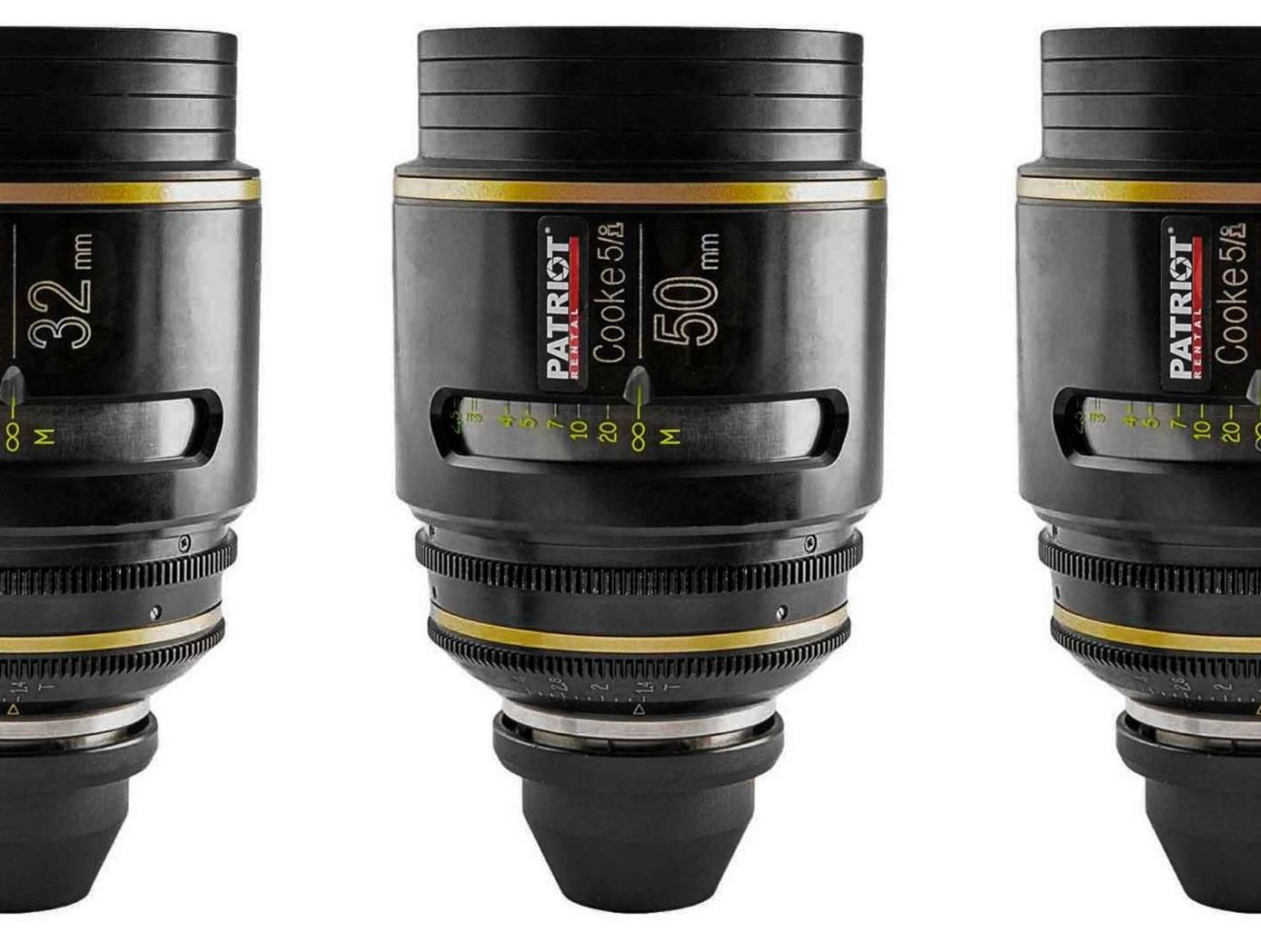 SET COOKE 5/i Lenses T 1.4  18,25,32,50,65,75,100mm