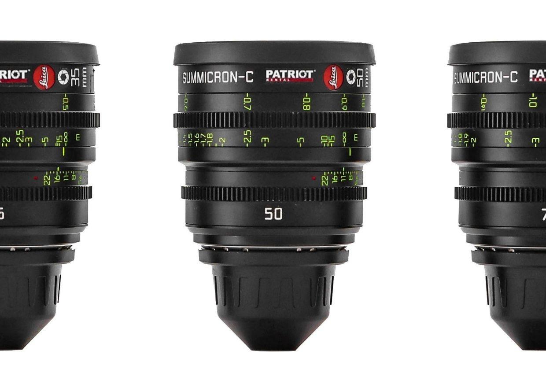 SET LEICA SUMMICRON C Lenses T2 18,25,35,50,75,100mm