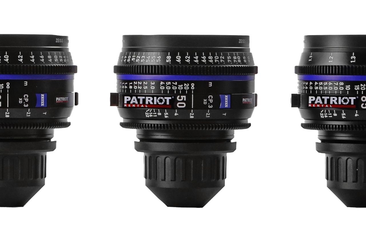 SET ZEISS COMPACT PRIME CP.3 Lenses T2.1-2.9  15,25,35,50,85,135mm