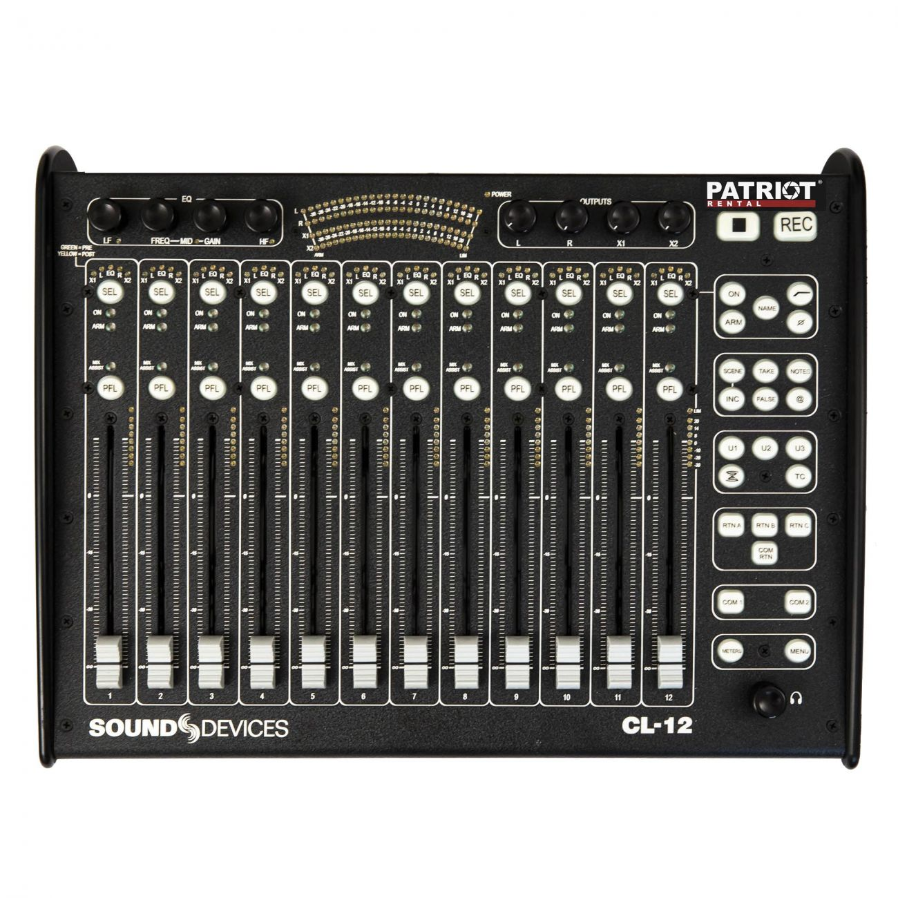 Sound Devices CL-12 Linear Fader Controller for 6-Series of Mixer/Recorders