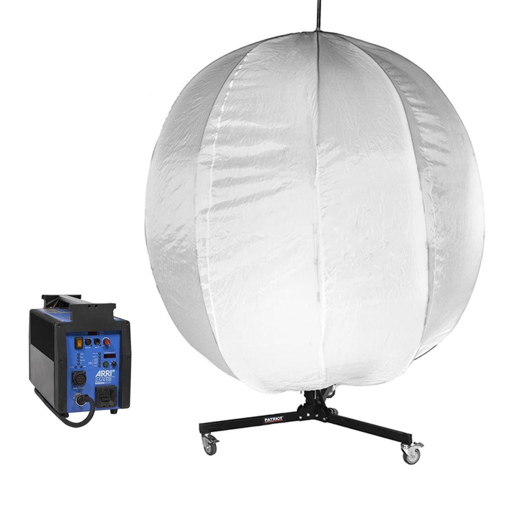 ARRI Compact 2500 + Softbox China ball 1.8 m