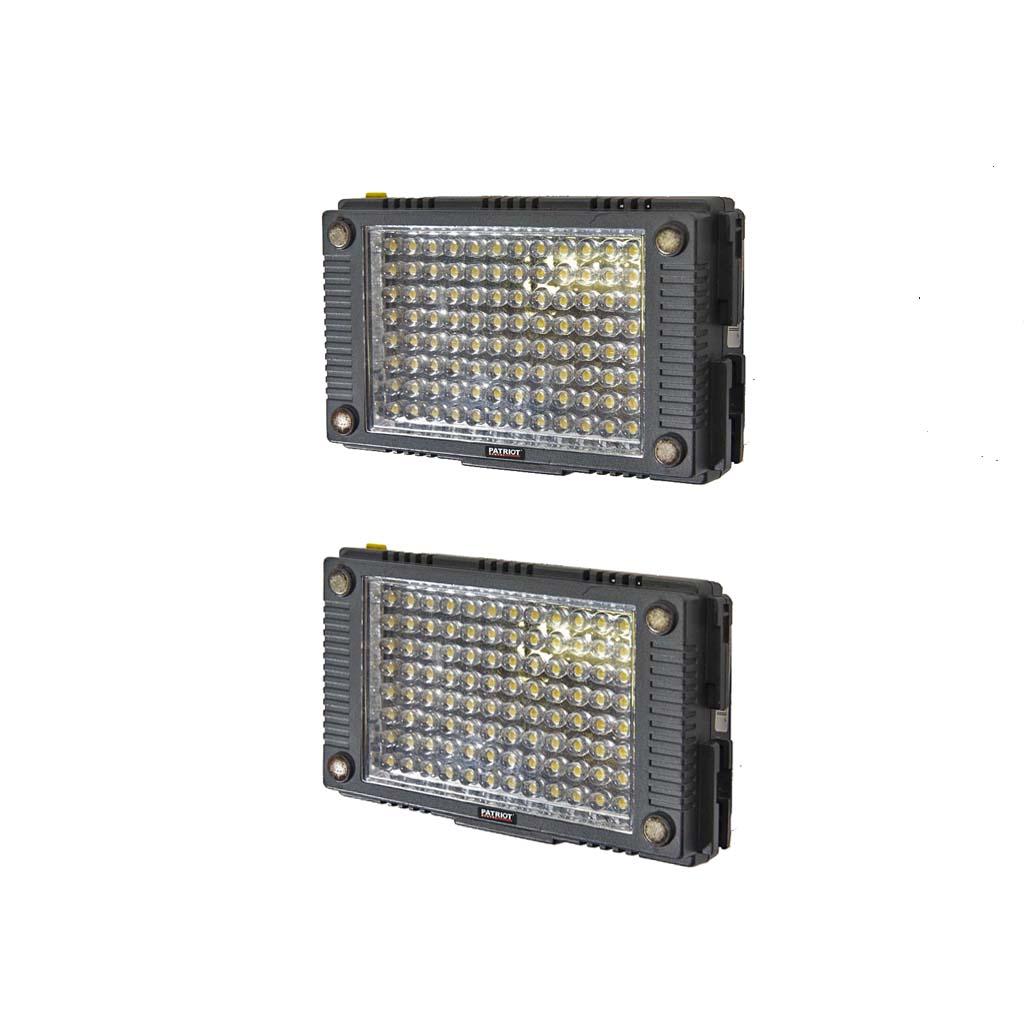 LITE Panel TecPro mini x2 deluxe set battery power