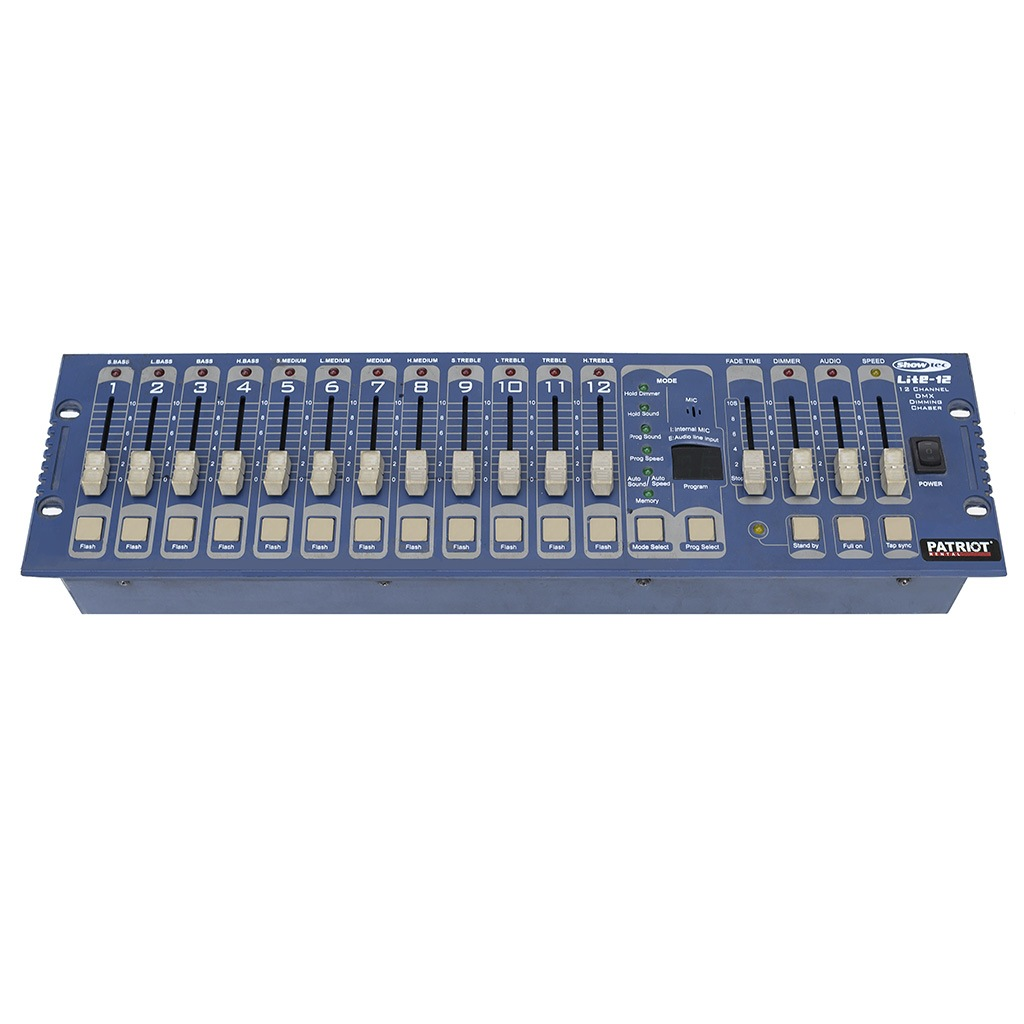 Control panel 12ch