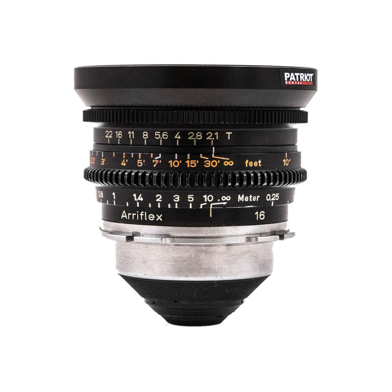 16 mm ZEISS PRIME Lens T2.1