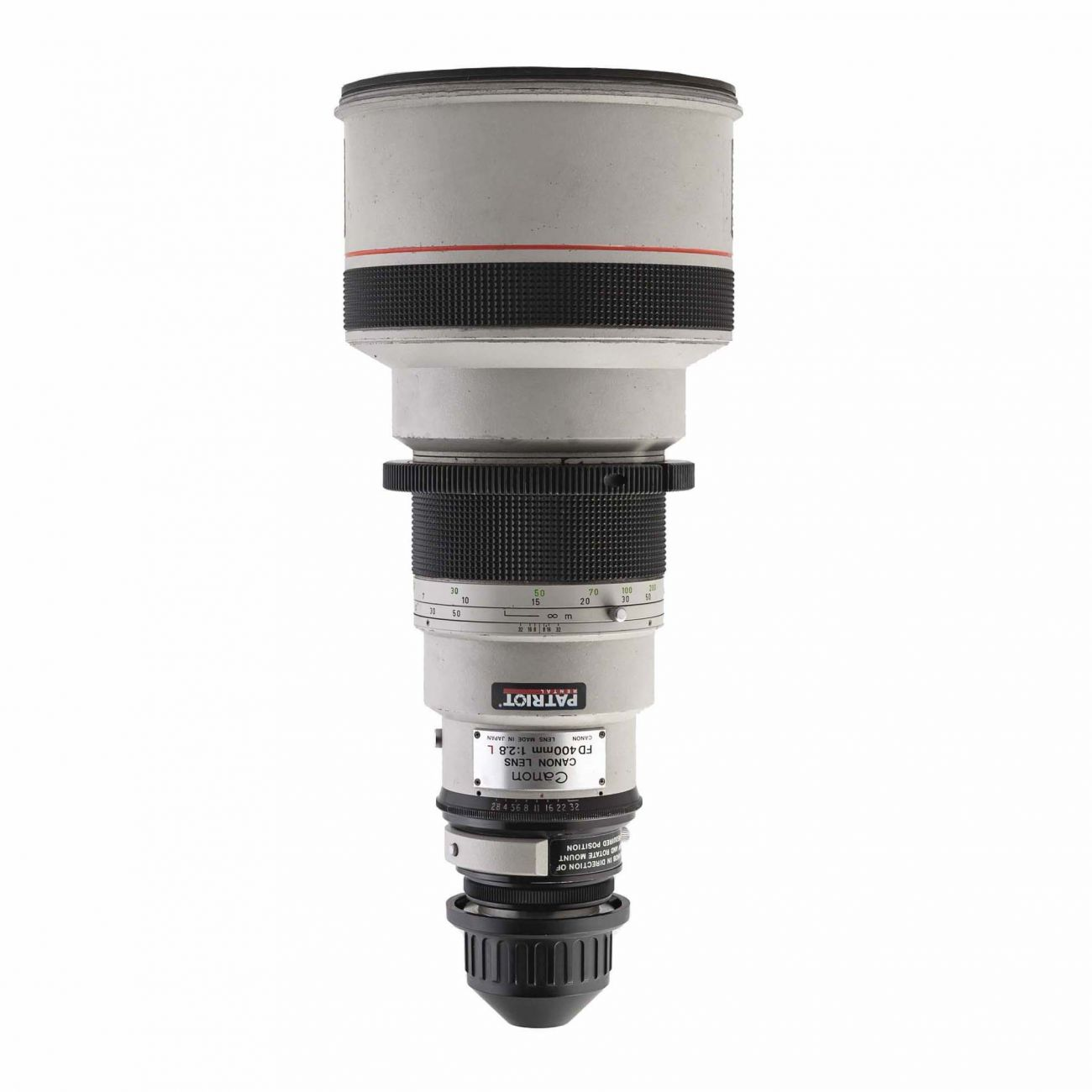400mm Canon lens f/4 DO IS USM