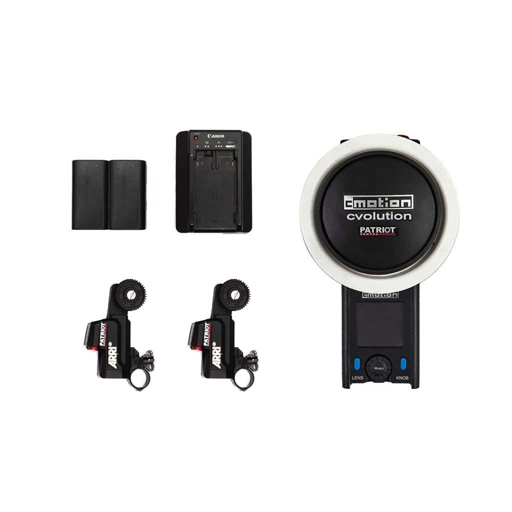 Wireless Focus Control CMOTION CVOLUTION 2 motors