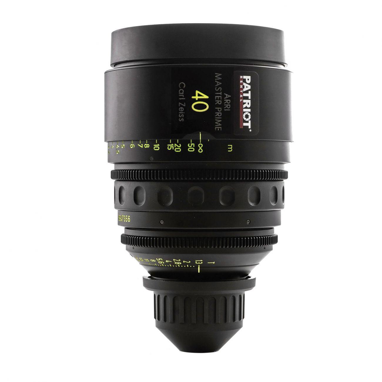 40mm ARRI MASTER PRIME Lens T1.3