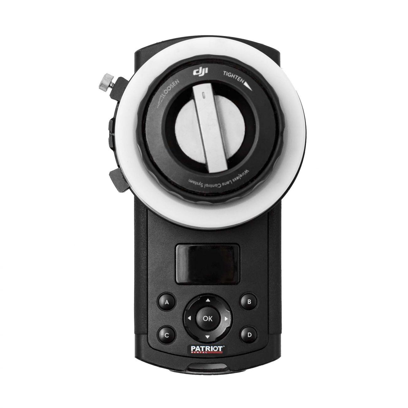 Wireless Focus Control DJI 1 motor