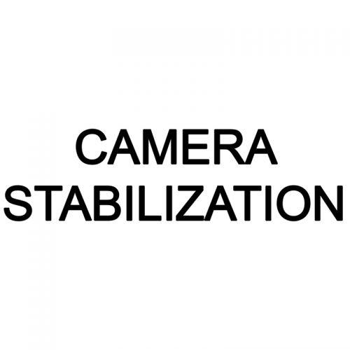 Camera stabilization pc