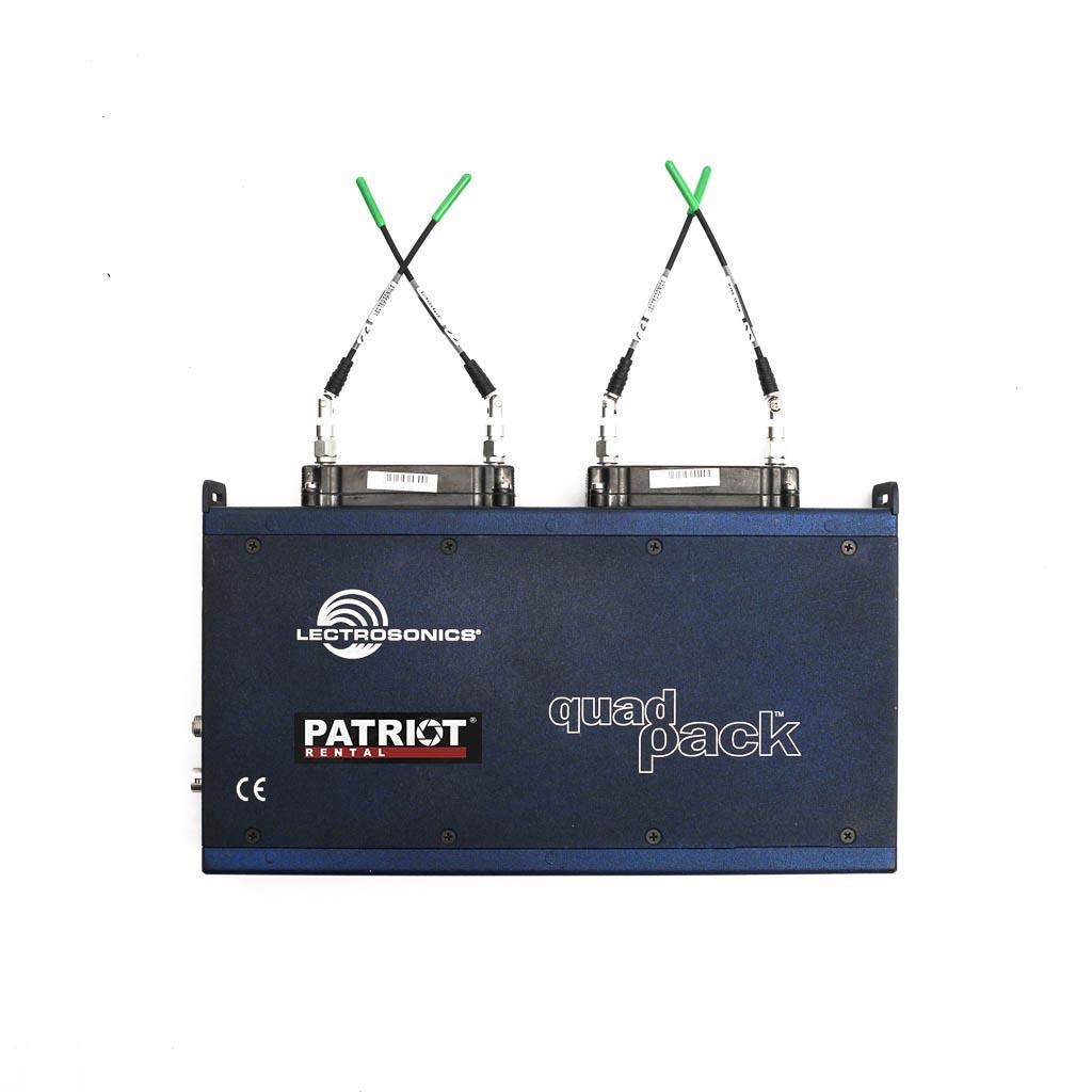 Lectrosonics Quadpack Power & Audio Interface