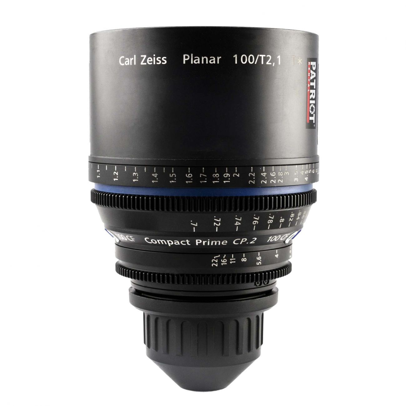100mm ZEISS COMPACT PRIME CP.2 Lens T2.1