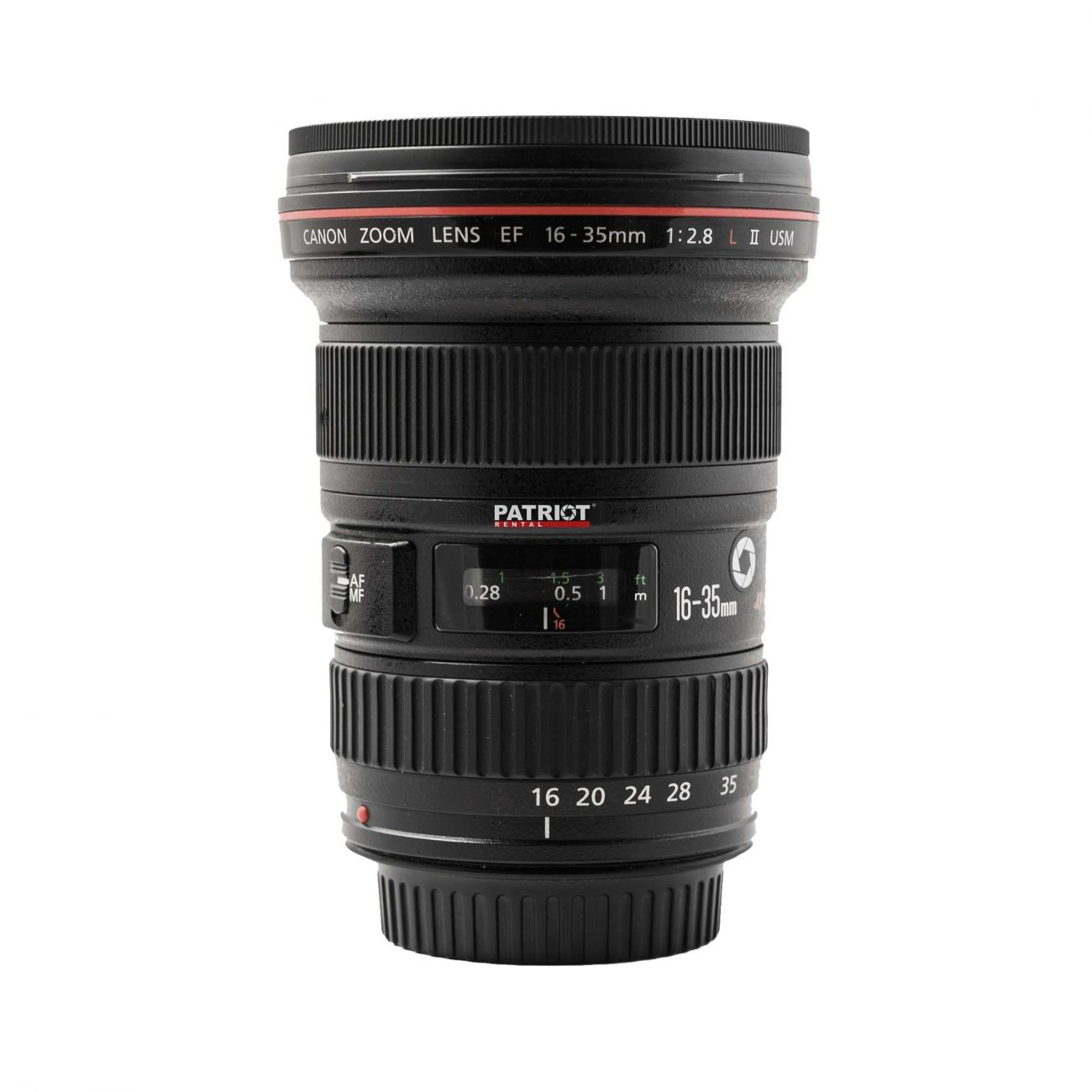 16-35mm Canon zoom lens f/2.8 L USM (USM II)