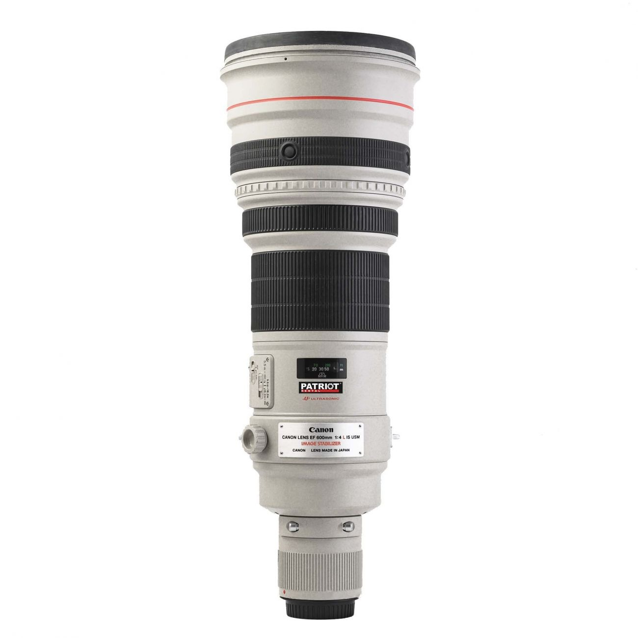 600mm Canon lens f/4 IS USM