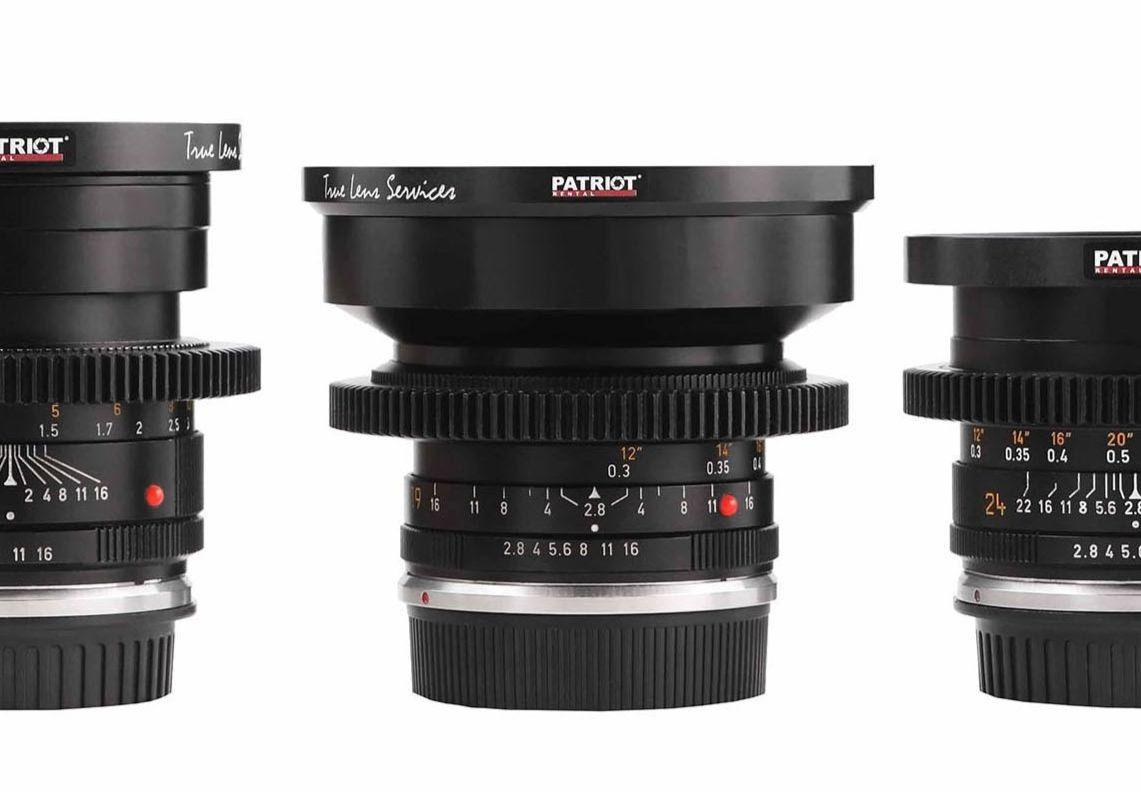 SET LEICA-R Lenses T2-2.8 EF 19,24,28,35,50,90,135mm