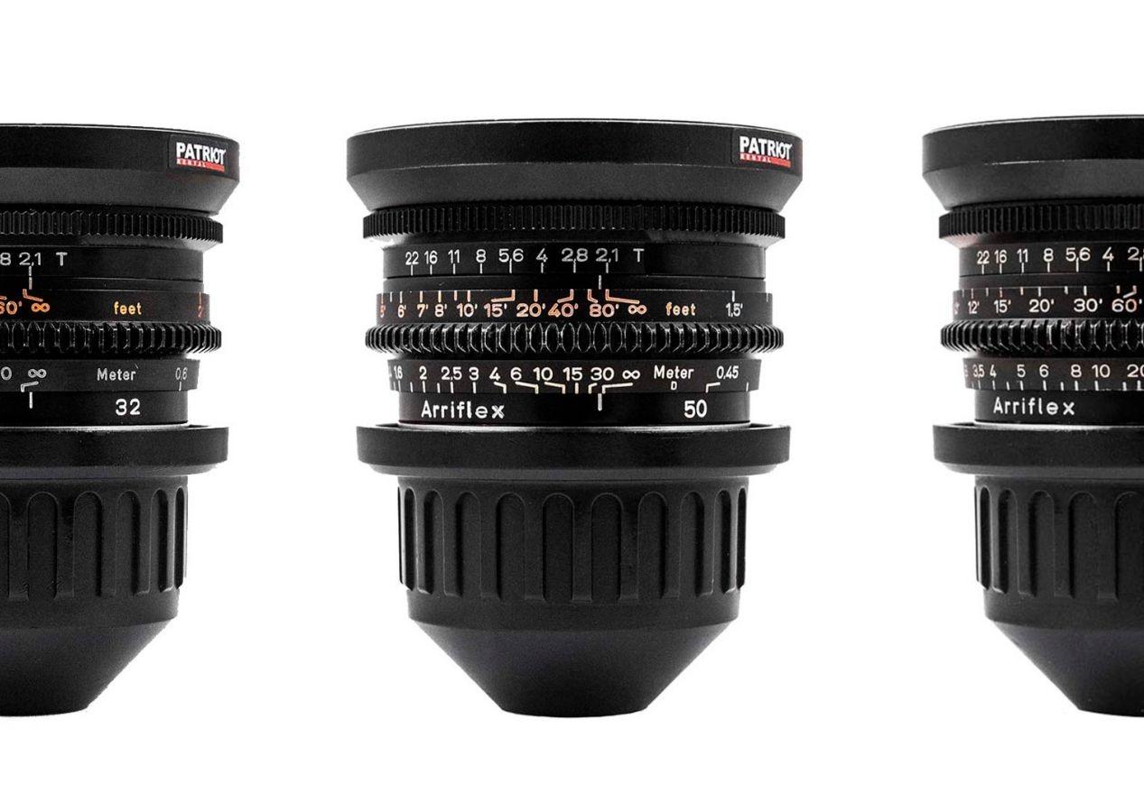 SET ZEISS PRIME Lenses T2.1 16,24,32,50,85,100mm