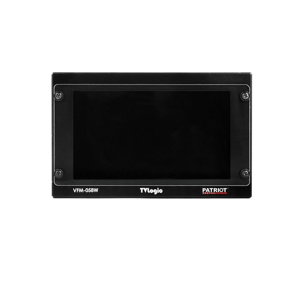 Monitor OnCamera 5,5″ TV Logic VFM-058W HDLCD + battery