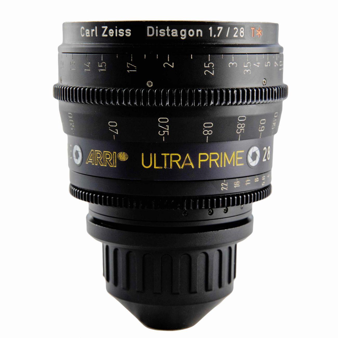 28mm ARRI ULTRA PRIME Lens T1.9