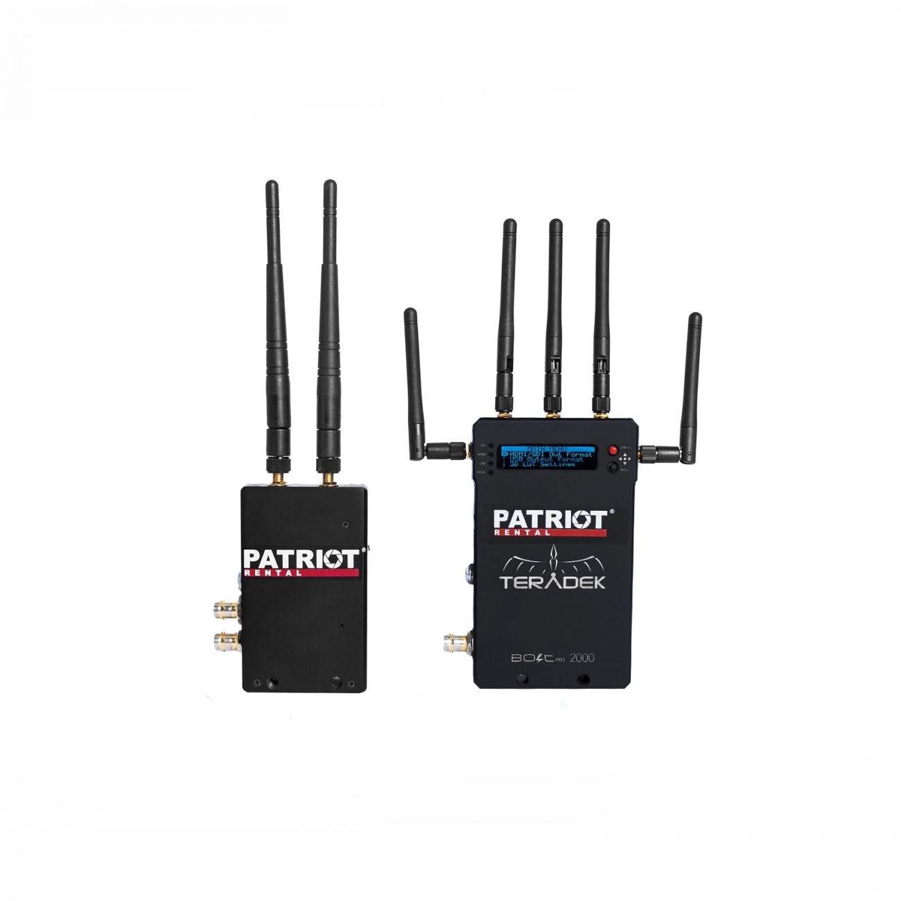 TERADEK BOLT 2000 (SDI/HDMI, 1xRx, 600m)