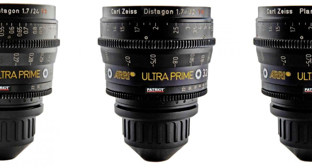SET ARRI ULTRA PRIME Lenses T1.9  16,24,32,50,85,135mm