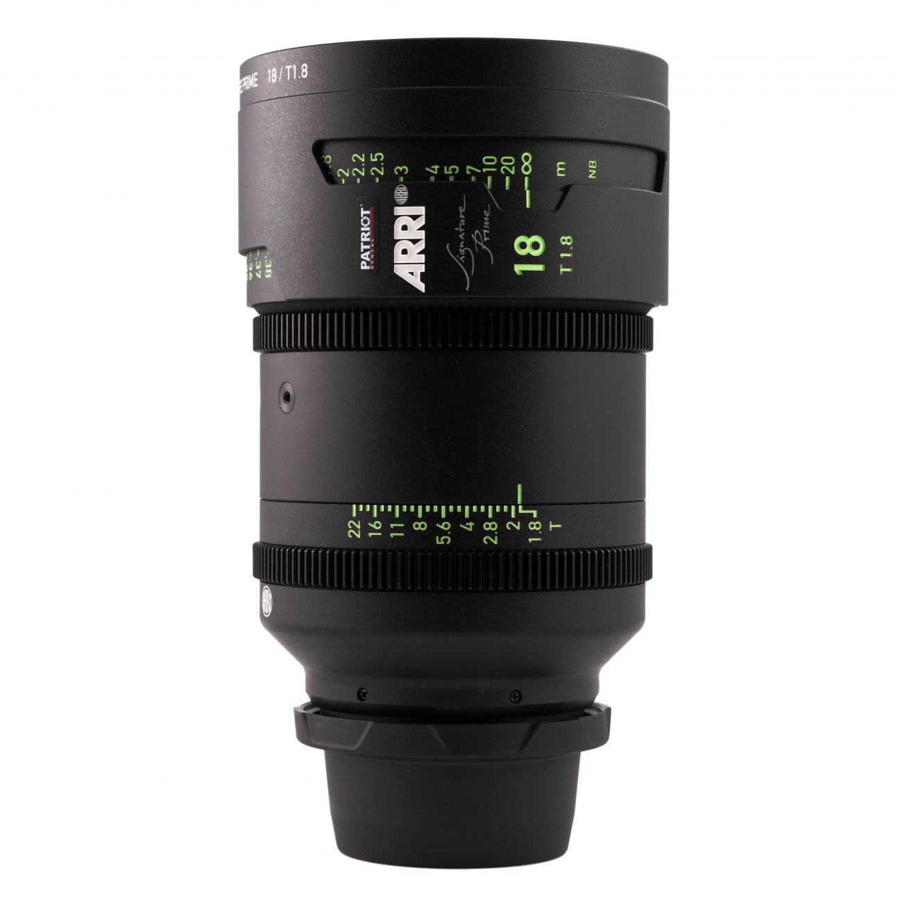 18mm ARRI SIGNATURE PRIME Lens T1.8