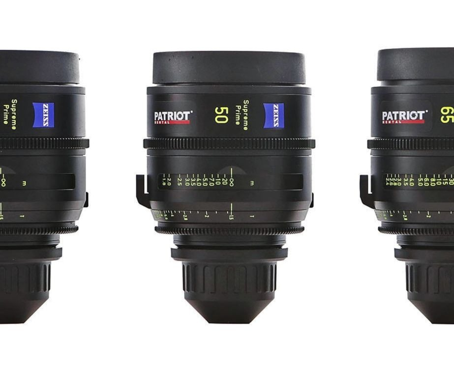 SET ZEISS SUPREME PRIME lenses T1.5 18,25,35,50,85,135mm