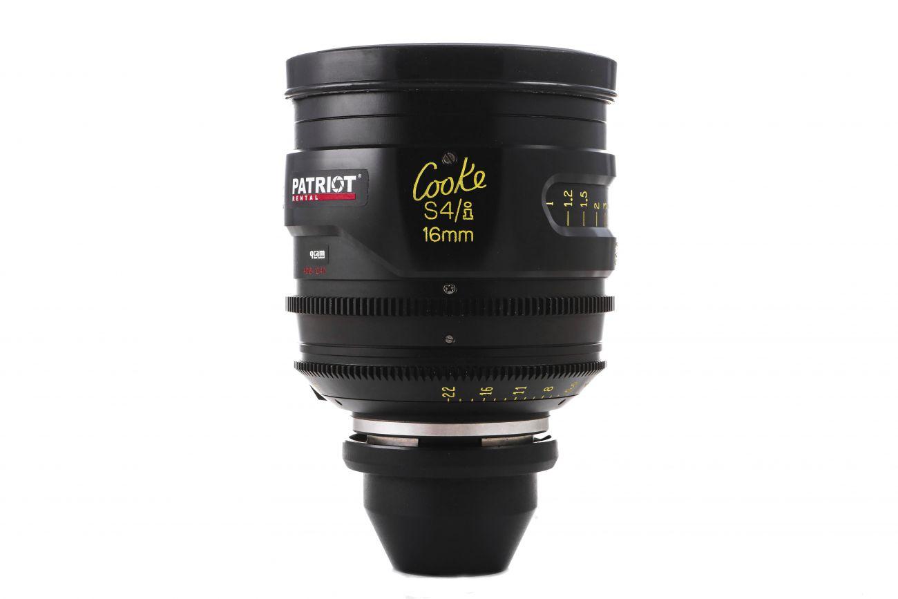 16mm COOKE S4/i lens T2