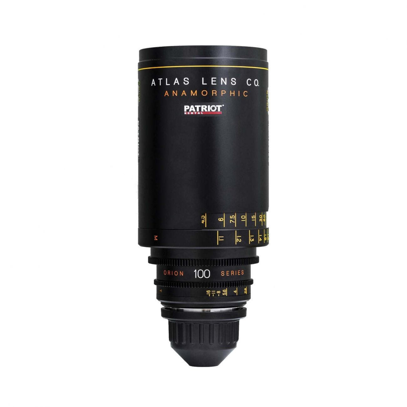 100mm ORION ATLAS SERIES ANAMORPHIC 2x lens T2