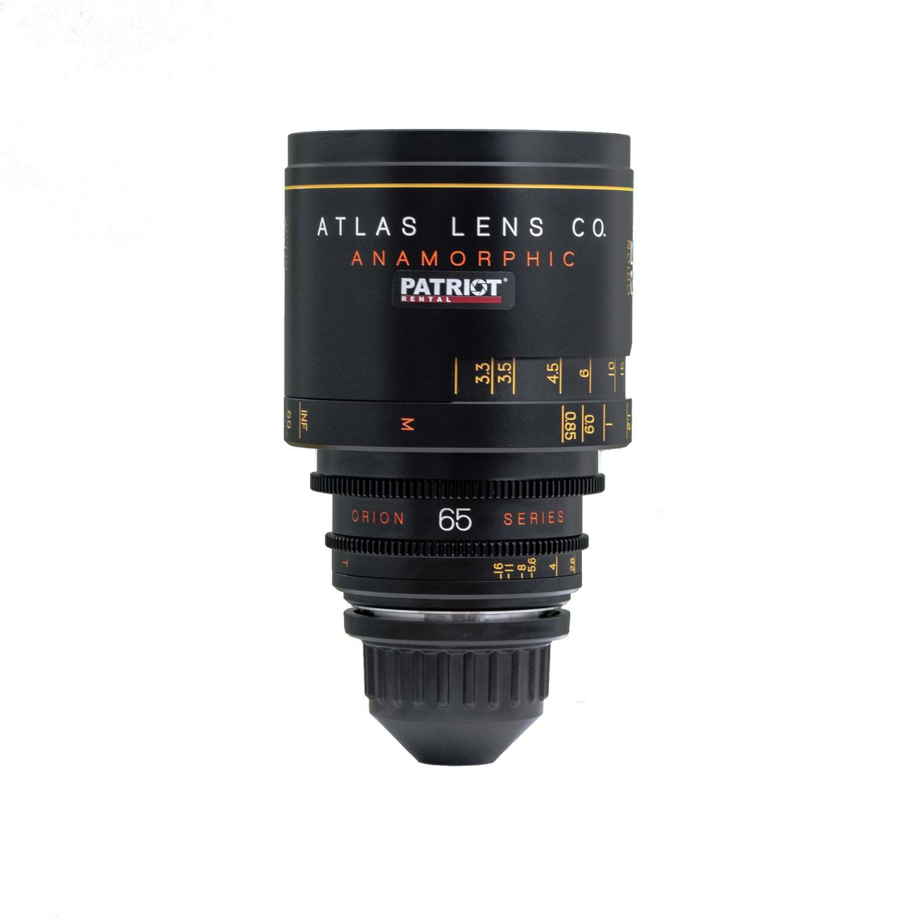 65mm ORION ATLAS SERIES ANAMORPHIC 2x lens T2
