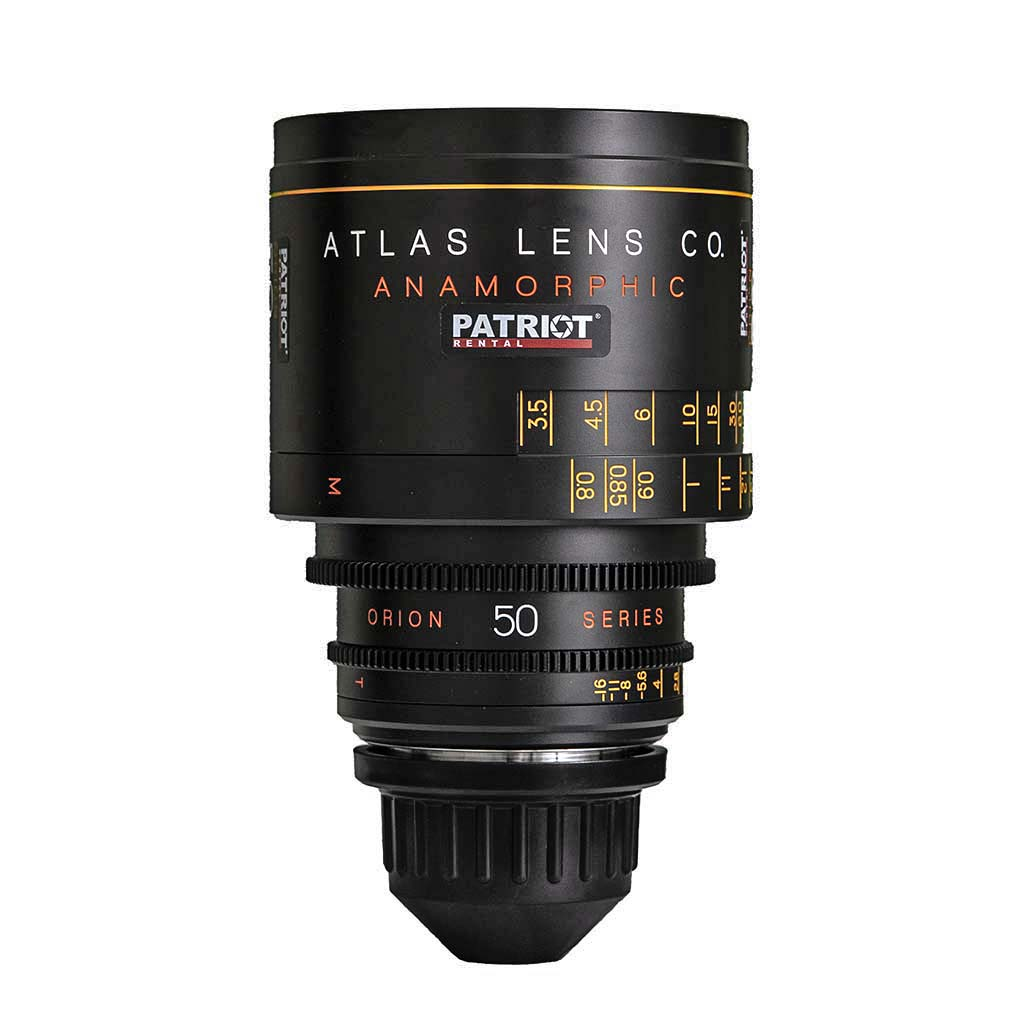 50mm ORION ATLAS SERIES ANAMORPHIC 2x lens T2