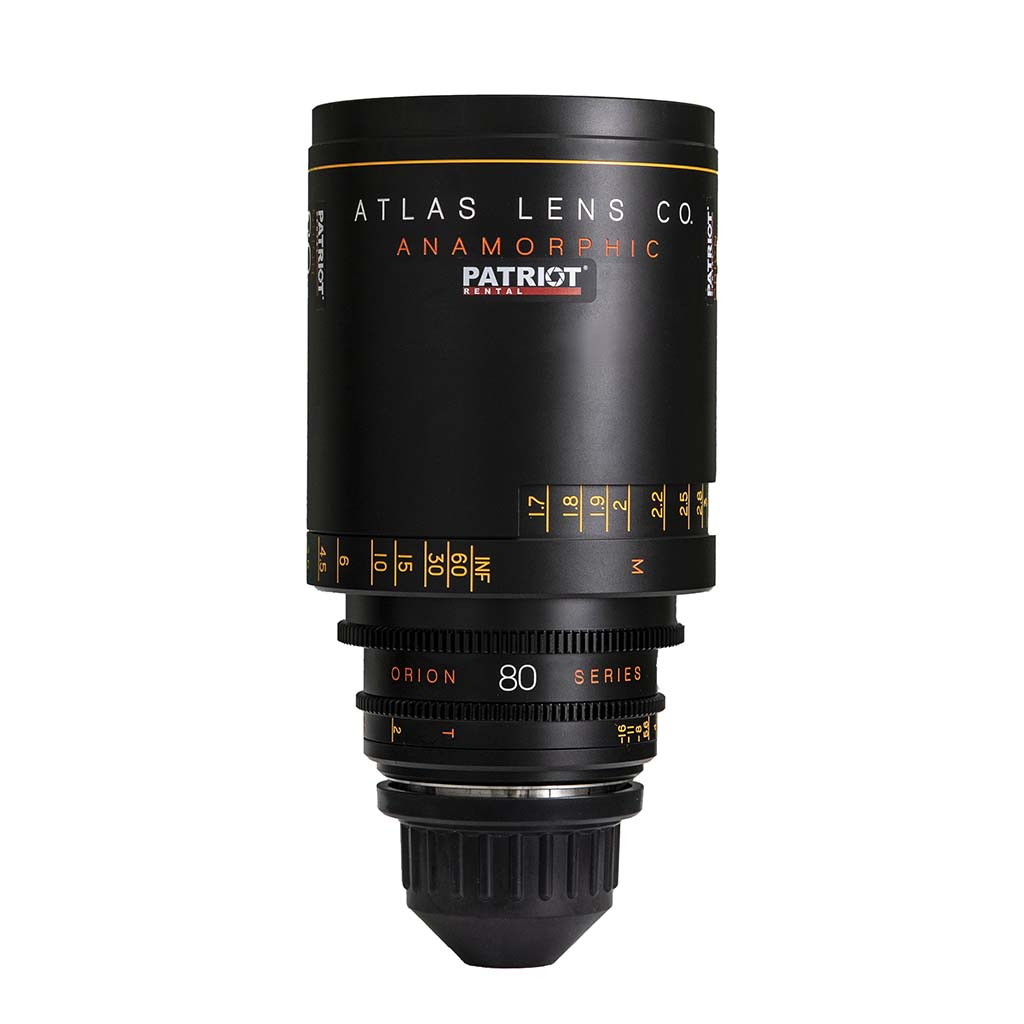 80mm ORION ATLAS SERIES ANAMORPHIC 2x lens T2