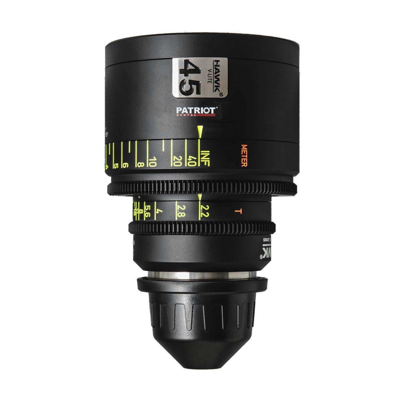 45mm HAWK V-LITE ANAMORPHIC Lens T2.2