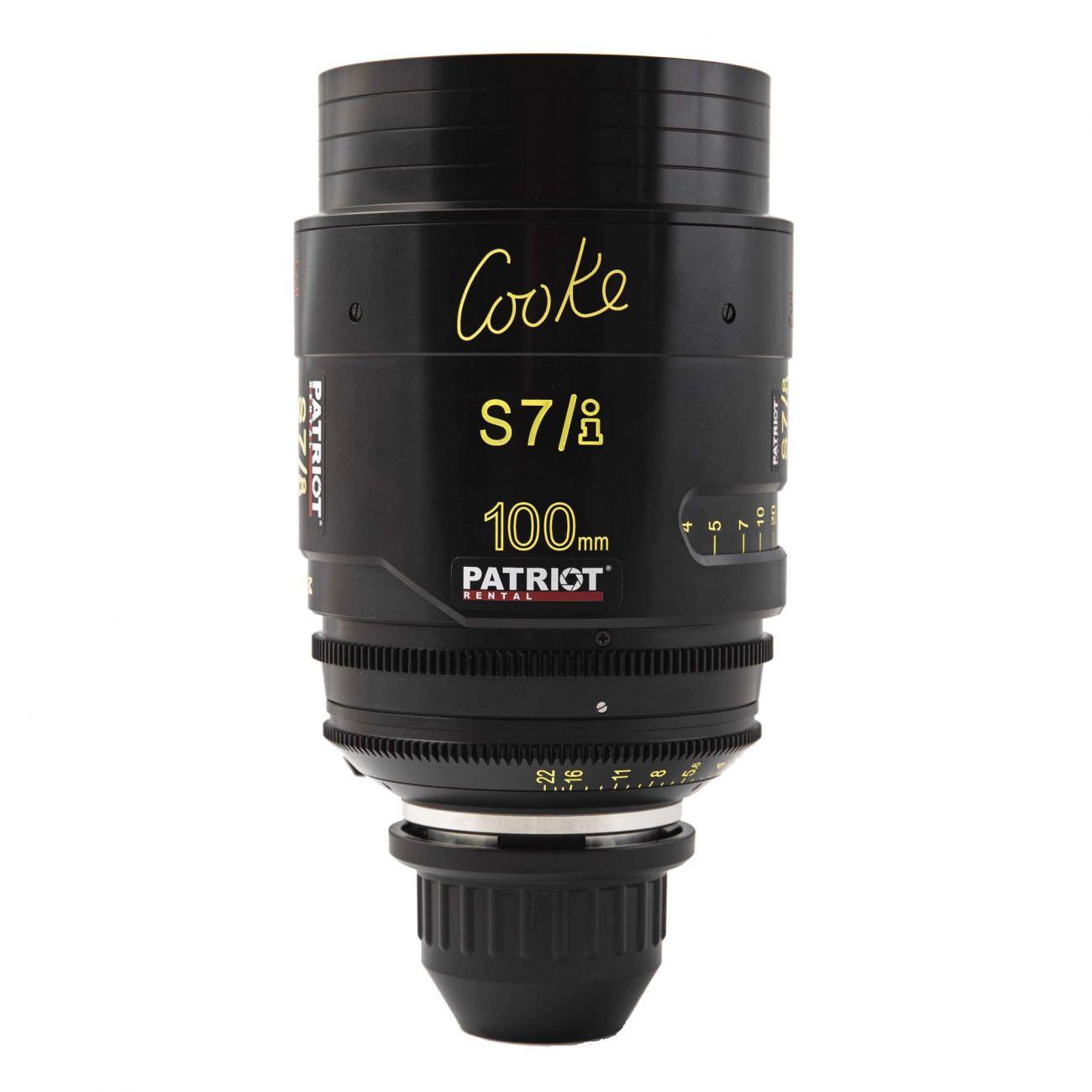 100mm COOKE S7/i Lens T2