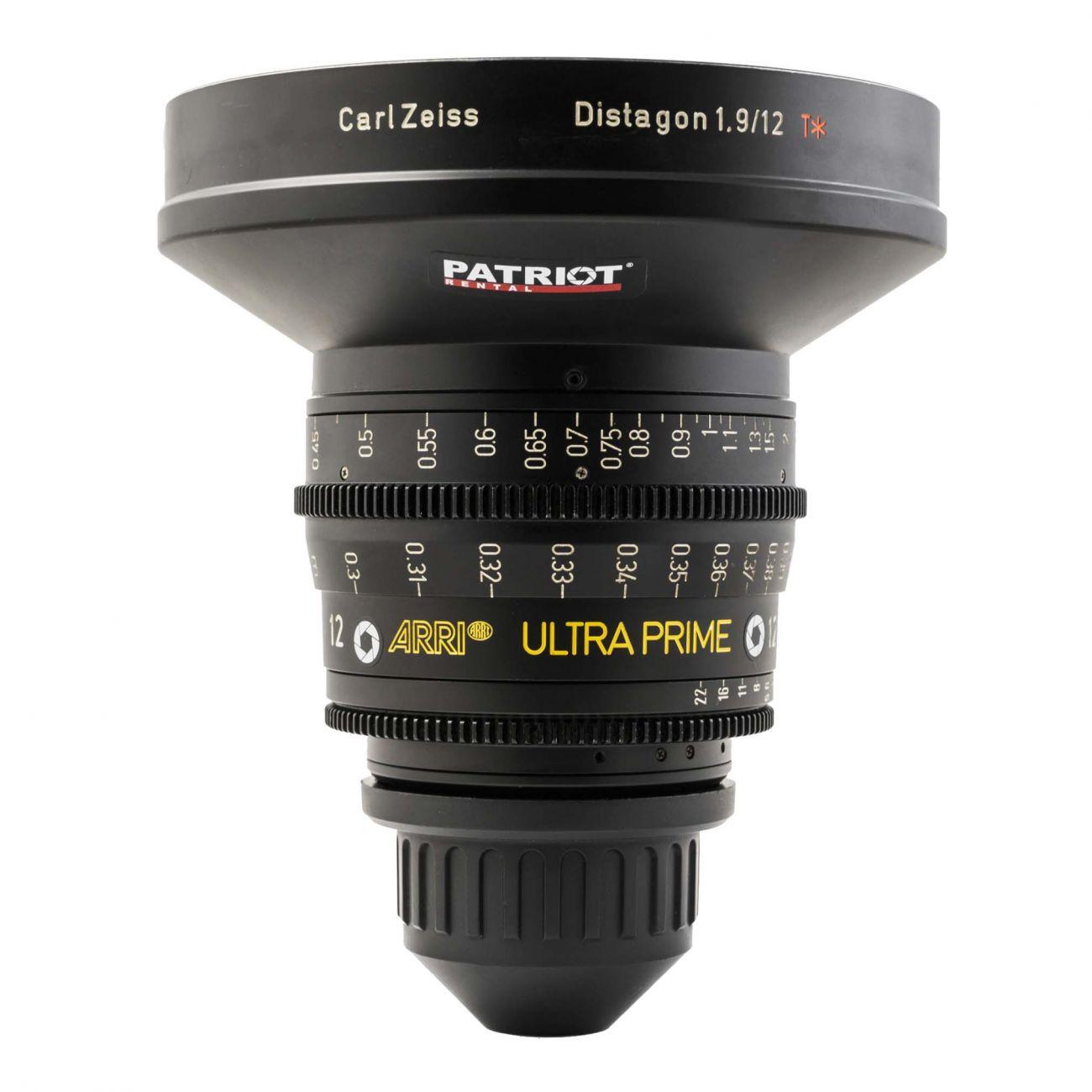 12mm ARRI ULTRA PRIME Lens T1.9