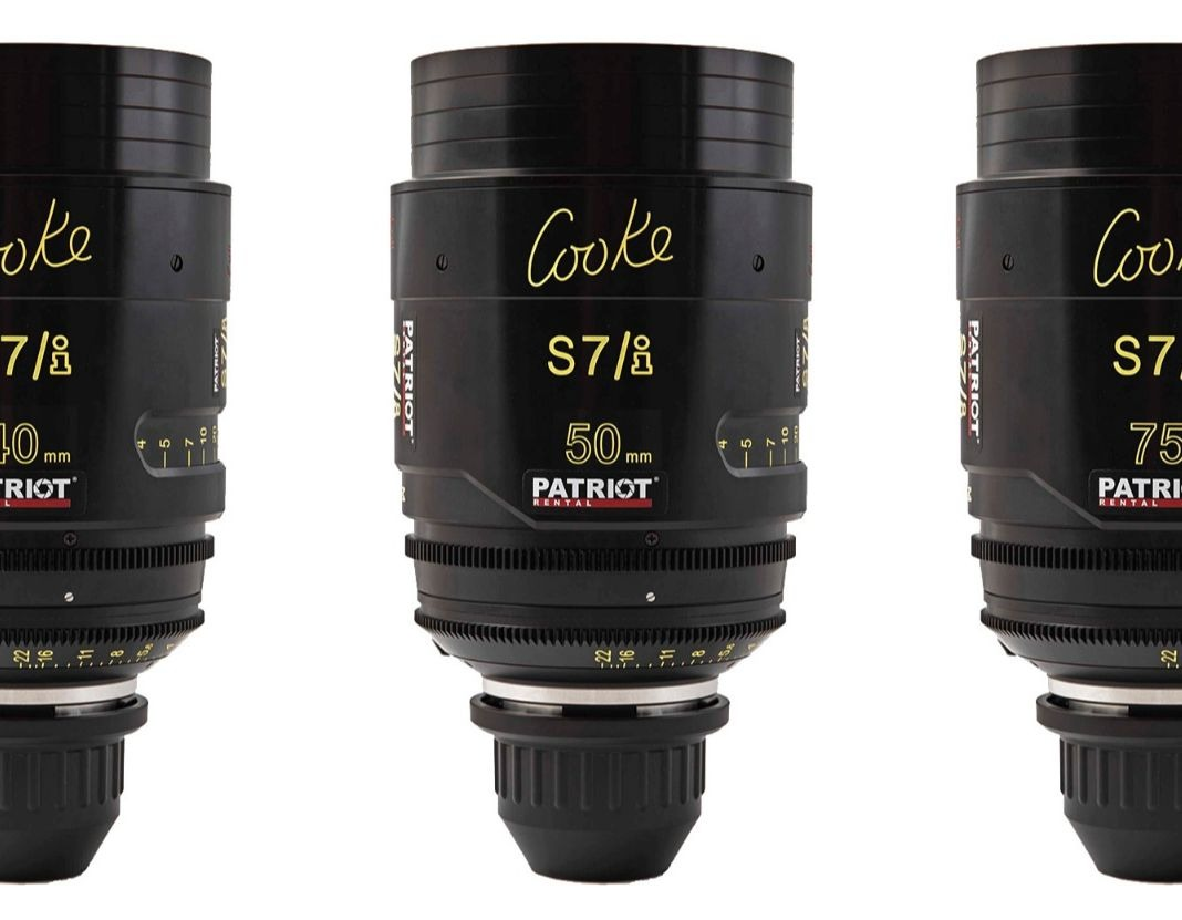 SET COOKE S7/i Lenses T2 18,25,32,40,50,75,100,135mm