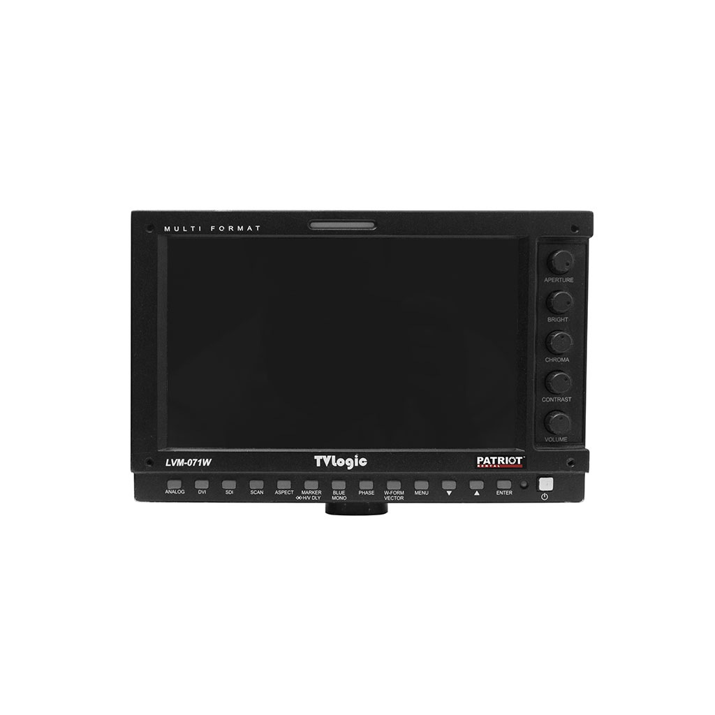 Monitor OnCamera 7″ TV Logic LVM-071W HDLCD + battery
